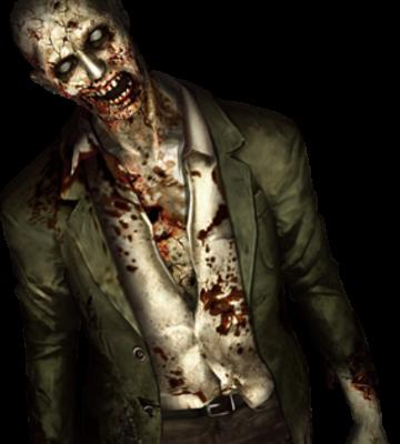 Zombi: Humano infectado por Virus T y enemigo genérico del juego