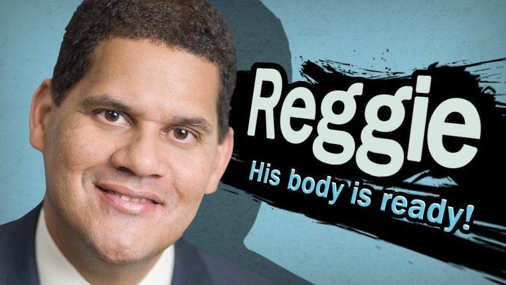 Reggie su body is ready