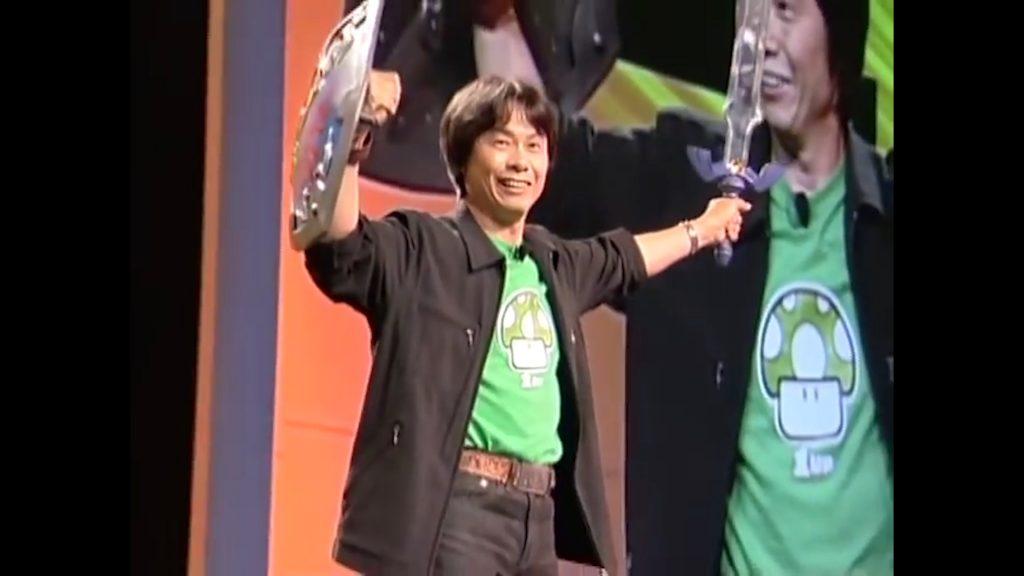 Miayamoto E3 Zelda